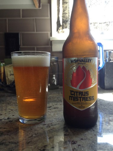 Hop Valley Citrus Mistress ale
