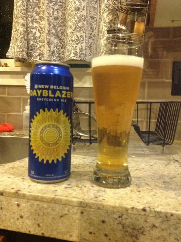 New Belgium Dayblazer ale