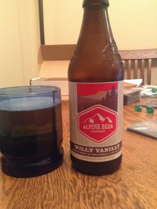 Alpine Beer Co Willy Vanilly ale