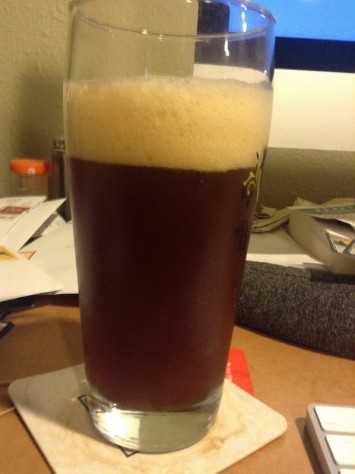 Fizzy amber ale