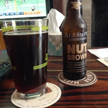 Ale Smith Nut Brown ale