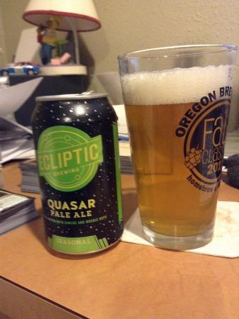 Ecliptic Quasar pale ale
