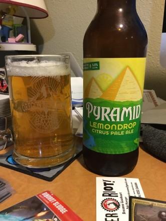 Pyramid Lemondrop pale ale