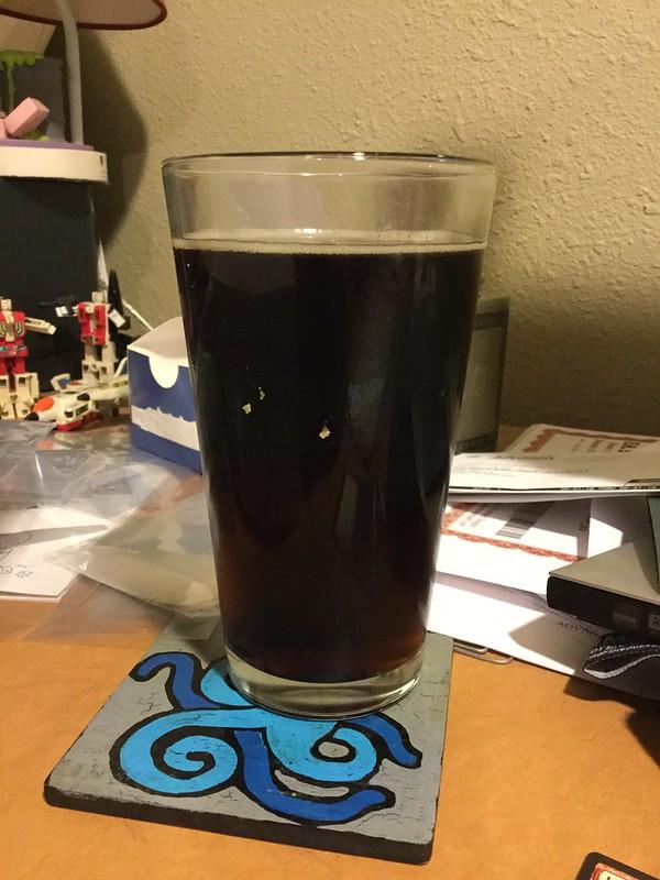 Brown/porter homebrew pic