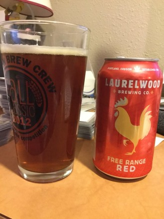Laurelwood Free Range Red ale