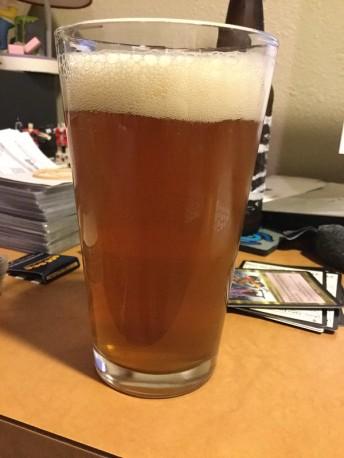 Homebrew cream ale 2