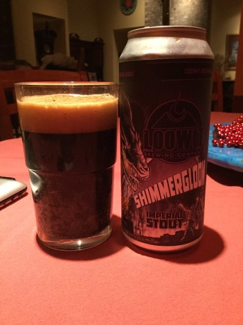 Loowit Shimmerglow imperial stout