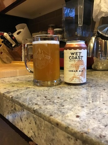 Wet Coast cream ale