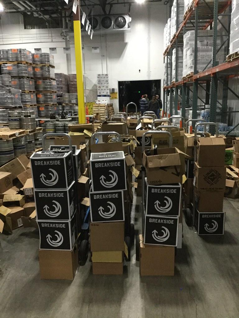 OBA warehouse of beer