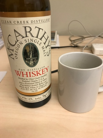 McCarthy's Whiskey & cup