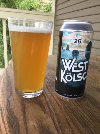Brewery 20 kolsch ale