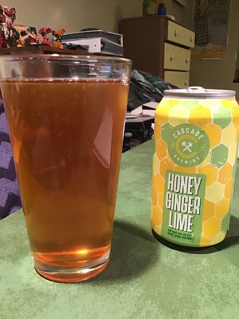 Cascade Honey Ginger Lime ale